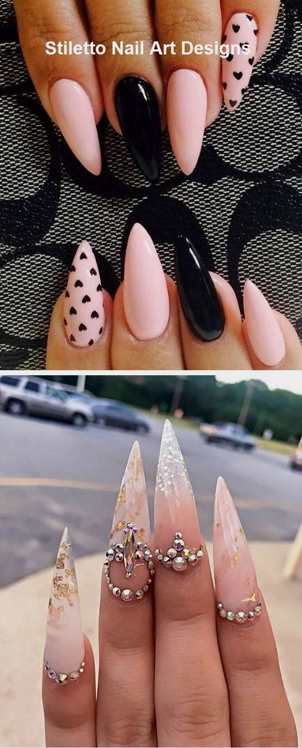 Photo of 30 great stiletto nail art design ideas #stiletto #naildesign – today pin