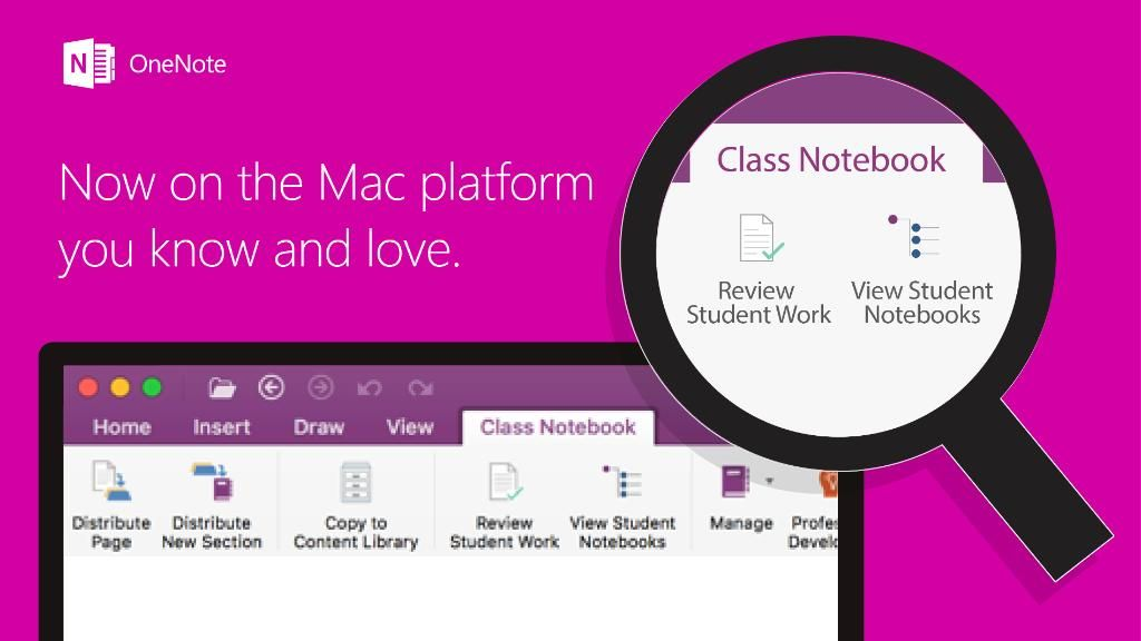 """@OneNoteEDU on Twitter: """"Install the latest Mac OneNote update and gain access to #OneNote Class Notebook! https://t.co/ARy4Yjllo1 #edtech https://t.co/wsxeZUbHHf"""""""