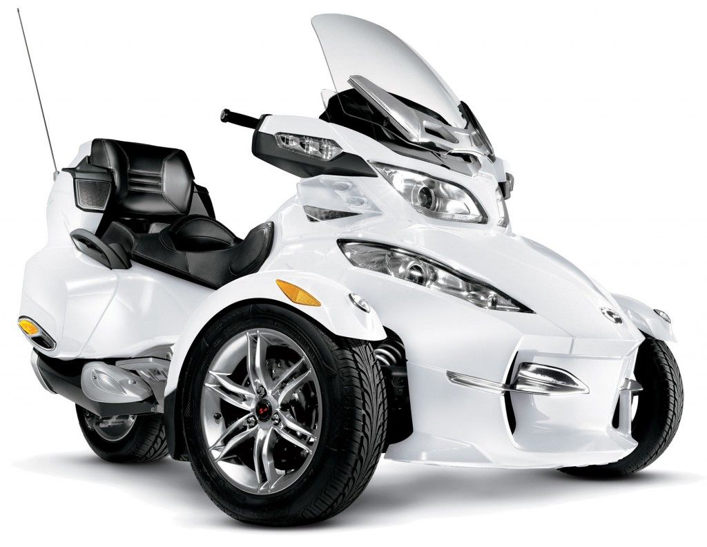 After the success of the 2010 can am spyder touring model bombardier recreational products has designed an all new limited edition rt spyder for 2011