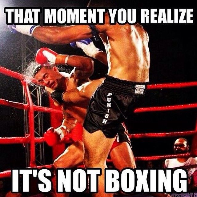 Martial Arts Humor Jokes And Fun Memes With Images Muay Thai