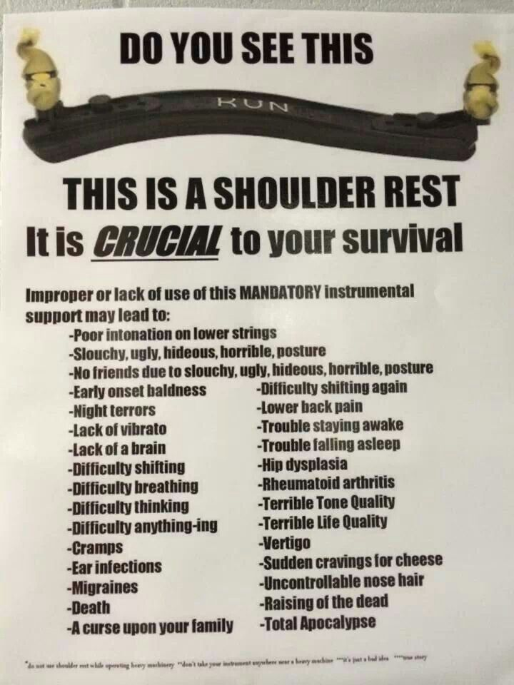 Hahahha I Have A Kun The Most Comfortable Shoulder Rest