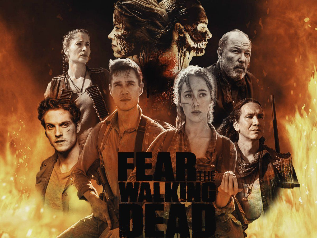 Fear The Walking Dead Fear The Walking Dead The Walking Dead Poster Walking Dead Art