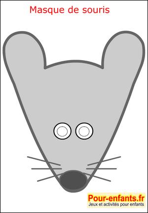 Masque de carnaval masque de souris faire imprimer masque enfant de carnaval mardi gras paques - Masque de carnaval a imprimer ...