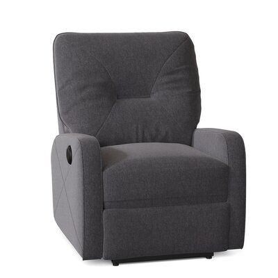 Palliser Furniture Moorgate Power Rocker Recliner Body Fabric: Ambient Graphite, Motion Type: Power Swivel Glider