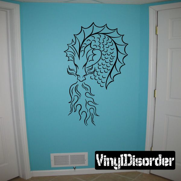 Dragon Wall Decal - Vinyl Decal - Car Decal - DC161