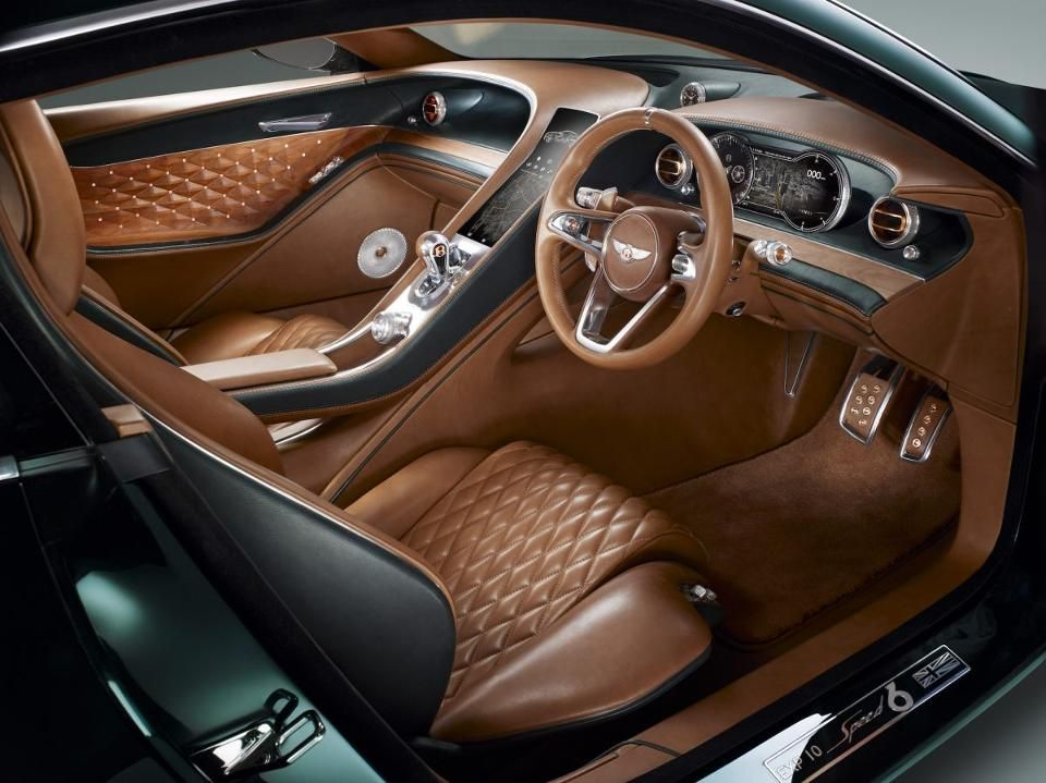 Step Inside Bentley S Most Powerful Luxury Gt The Continental