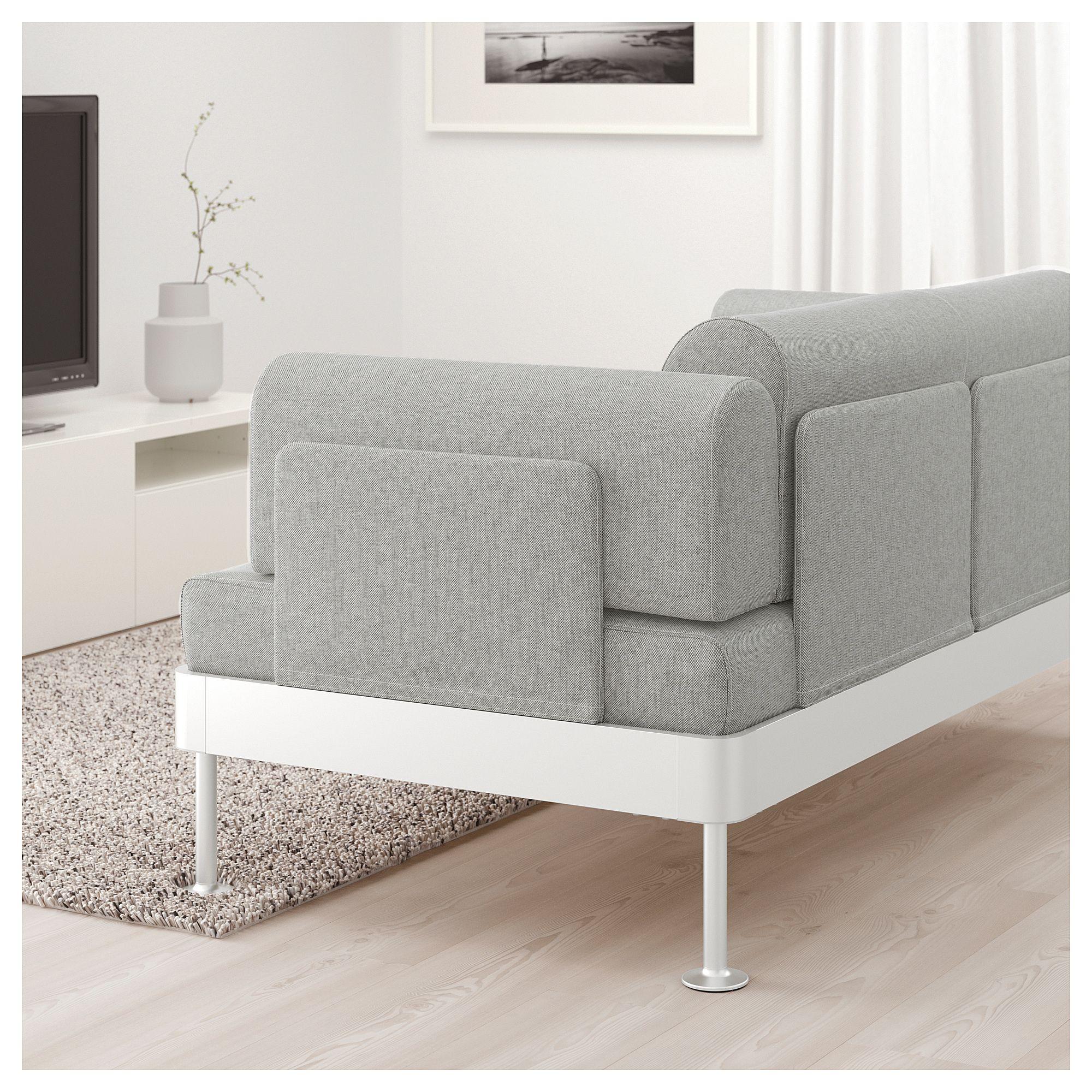 Delaktig 2er Sofa Tallmyra Weiss Schwarz Ikea Osterreich 2er Sofa 3er Sofa Und Kissen Sofa