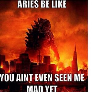 Aries Memes And Funny Pictures With Images Aries Zodiac Facts
