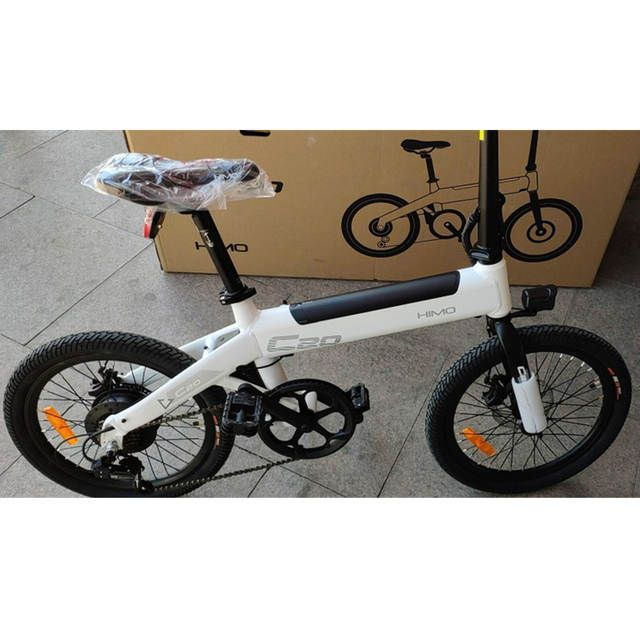 No Tax For Xiaomi Himo C20 Foldable Electric Moped Bicycle 250w