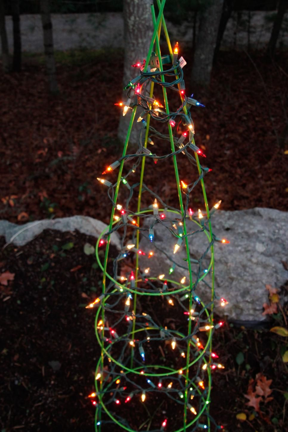 hgtv offers tips for using holiday lights for landscape lighting year round