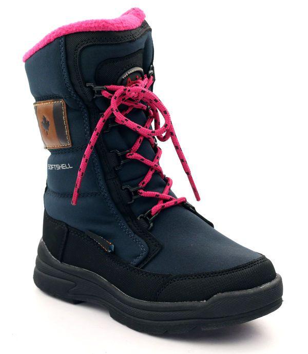 American Club Buty Z Membrana American 701sb Granatowe Rozowe Czarne Hiking Boots Boots Shoes