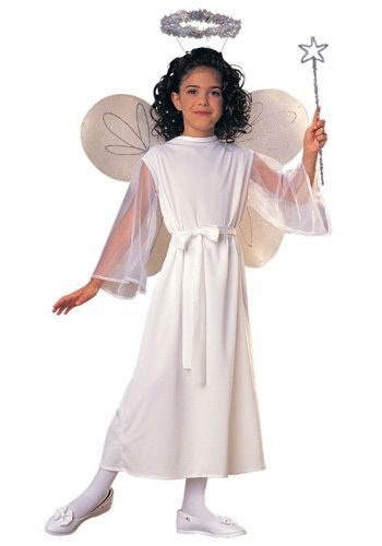 this girls angel costume is a classic halloween costume idea thats also great for christmas pageants get this girls angel costume as a cheap halloween - Pageant Girl Halloween Costume