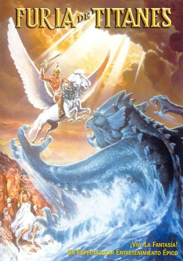 Furia De Titanes Clash Of The Titans 1981 Desmond Davis Clash Of The Titans Titans Full Movies Online Free