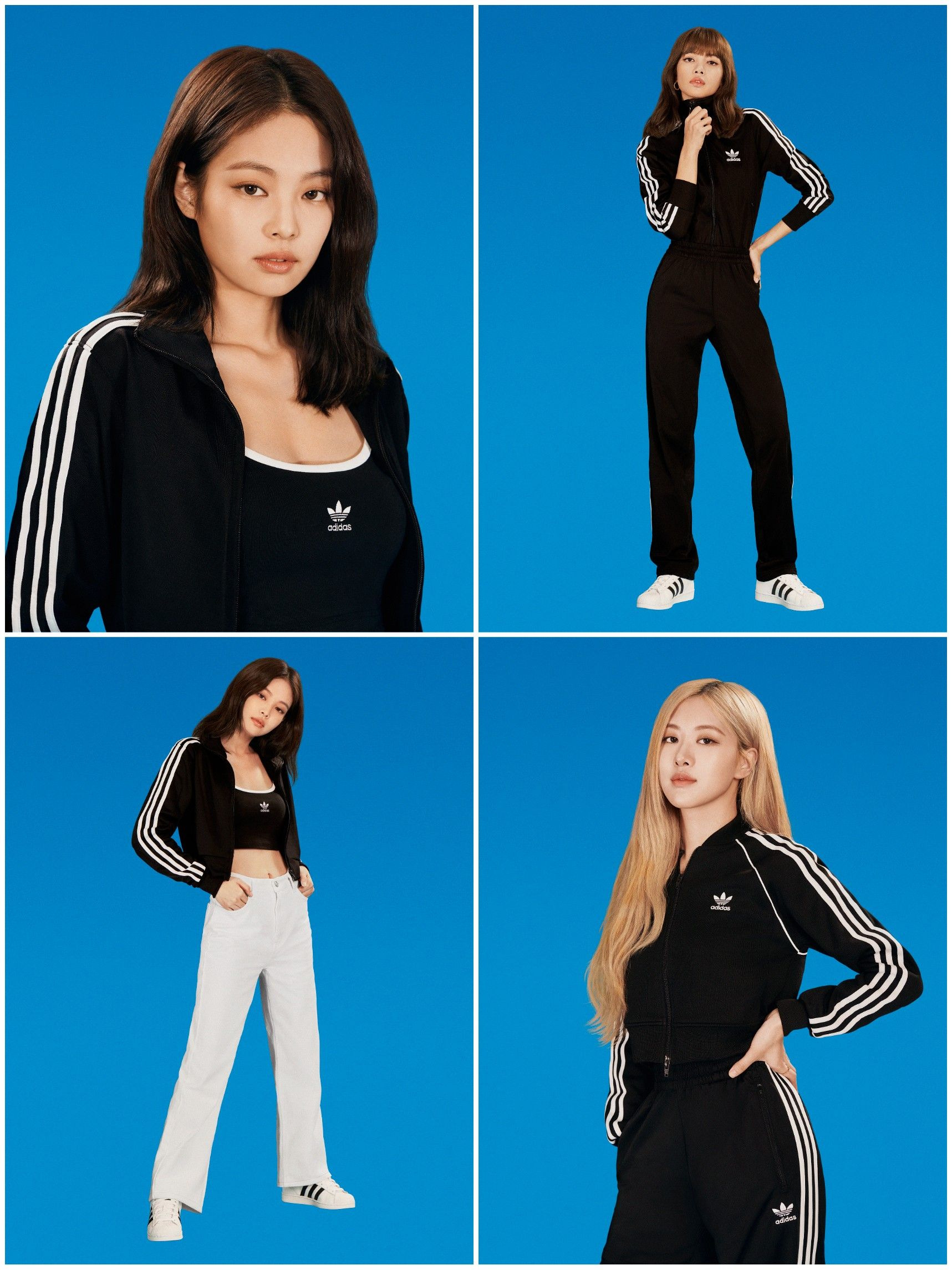 200126 BLACKPINK x adidas Originals em 2020 Divas, Jennie