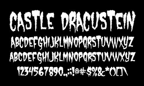 Download Free Horror Type Fonts for your computer at DaFont