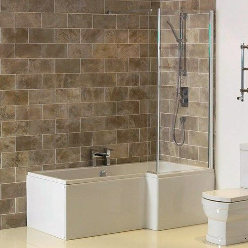 L Shaped Master Bathroom Layout: ArmourCast™ 1700 Heavy-Duty L-Shape Shower Bath Pack With