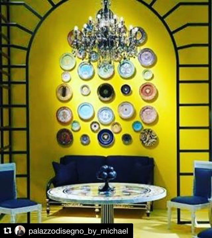 Versace Home Tableware The Collection Of Wall Plates In Various Designs Is A Classic Settting For Versace Pal Gold Home Decor Versace Home Versace Furniture