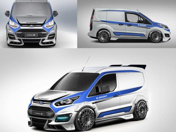 M Sport Transit Connect Across The Uk Hartwell Vans Ford