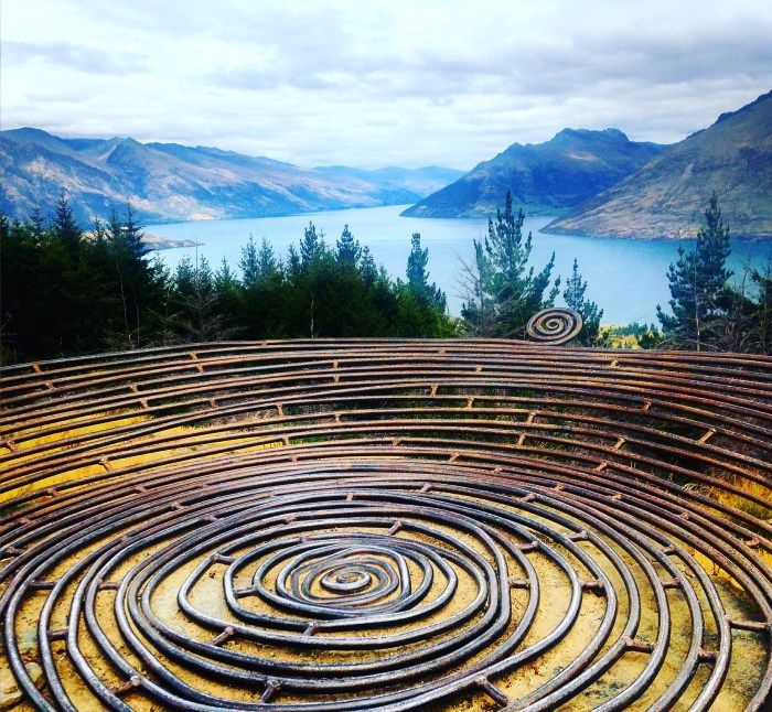 Millenium Basket, Queenstown Hill New Zealand