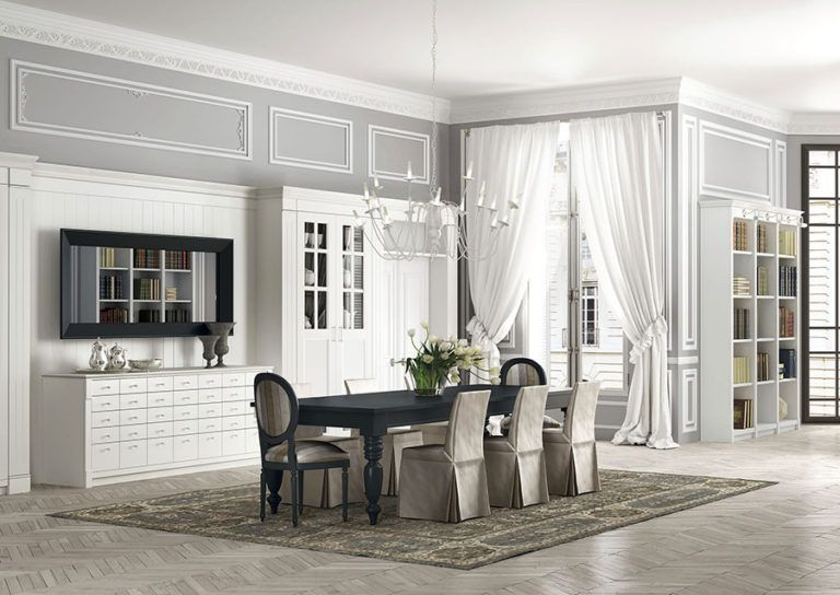 Arredamento per sala da pranzo classica n.01   Interior ...