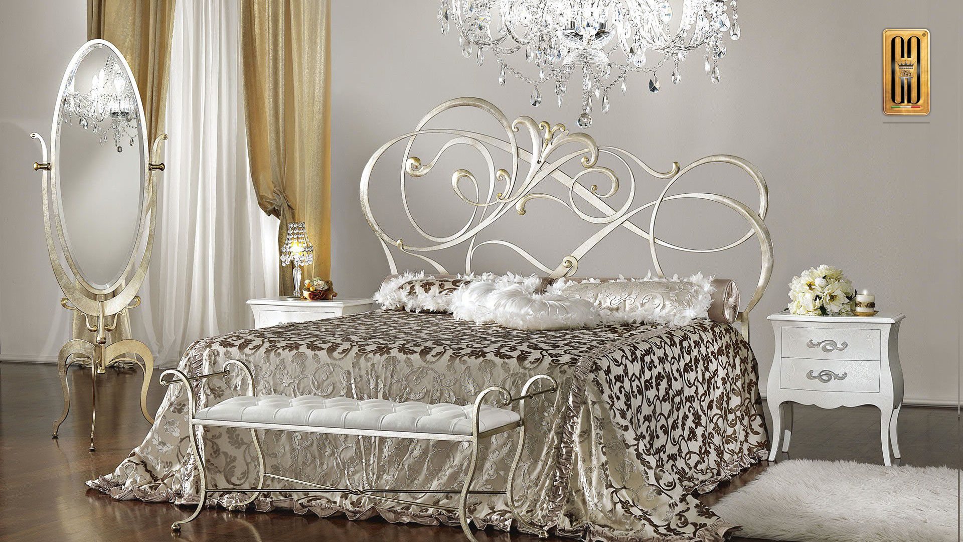 Classic bedroom furniture Gotha Luxury The first collection Gotha