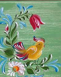 Resultado de imagem para pintura bauernmalerei