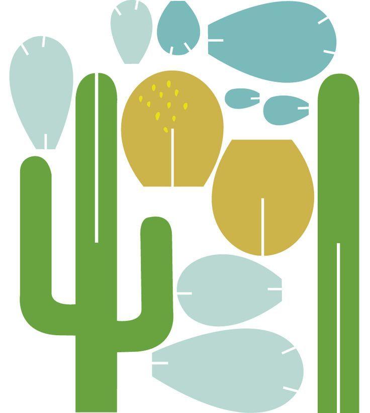 Paper Cactus Template Printable Beautiful Bonsai Paper cactus