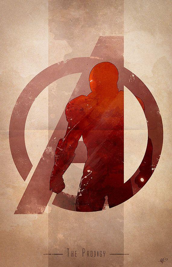Giclee Art Print Avengers Assembled The Prodigy Avengers Characters Avengers Logo Avengers Assemble