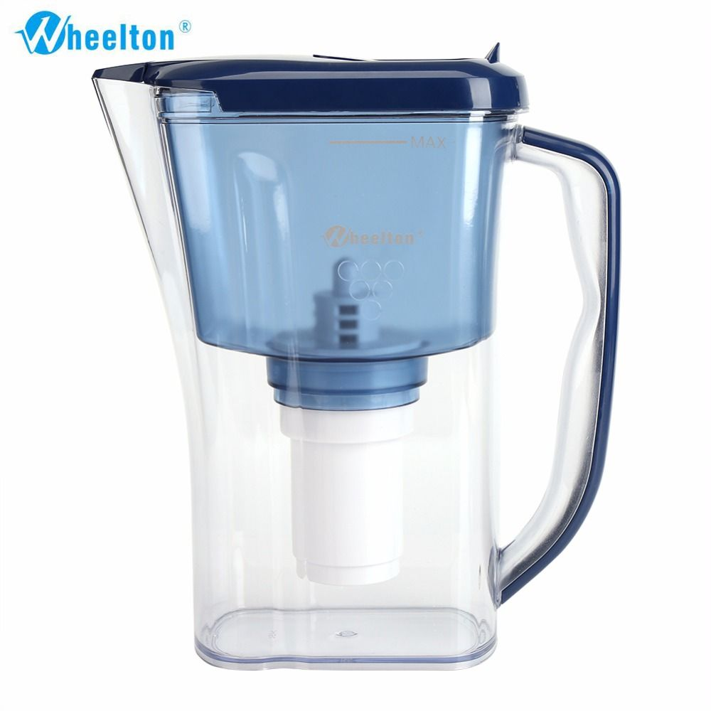 Wheelton Water Filter Pitcher 4.5 Cup Household Kitchen & Outdoor ...