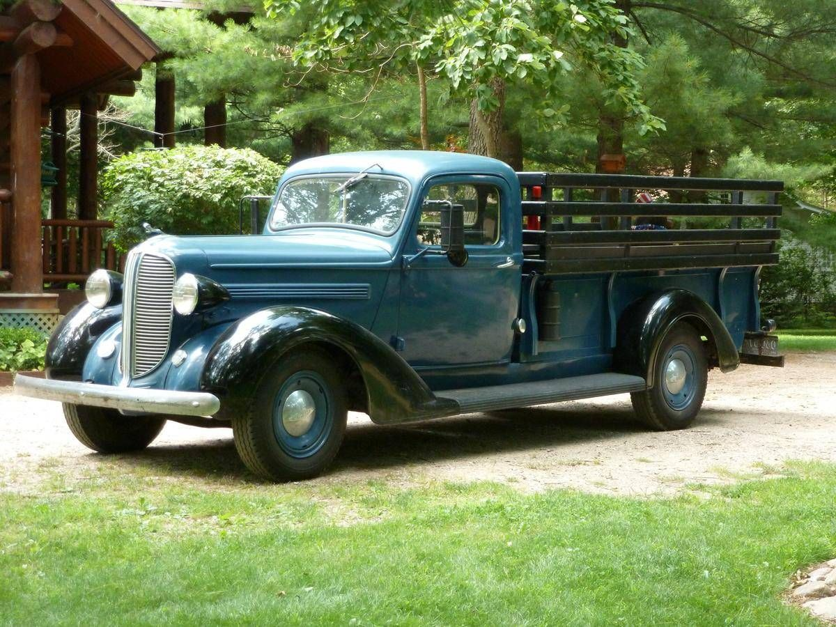 1938 Dodge Pick-Up Truck. Maintenance/restoration of old/vintage vehicles:  the material for new cogs/casters/gears/pads could be cast polyamide which  I ...