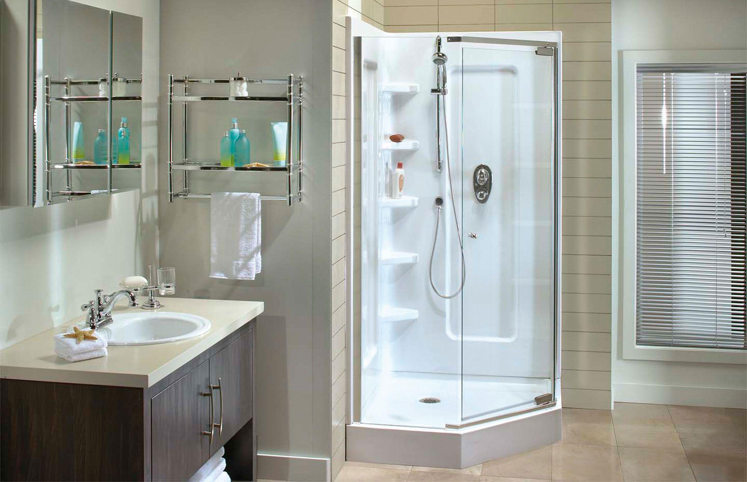 Magnolia Angle Corner shower - Keystone by MAAX | Recipes to try ...