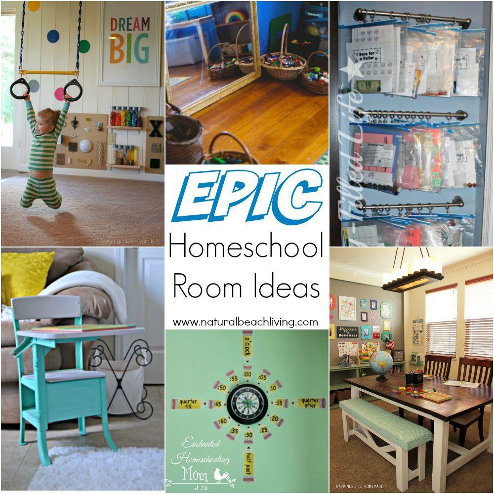 Homeschool Room Ideas Small Spaces: 10+ Epic Homeschool Room Ideas