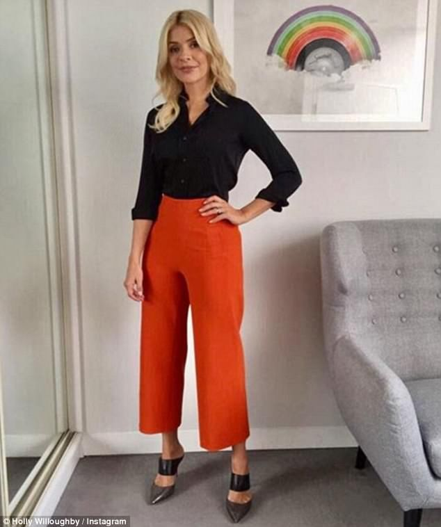 261fcb283e9b Holly Willoughby continues to divide style opinion | Daily Mail Online