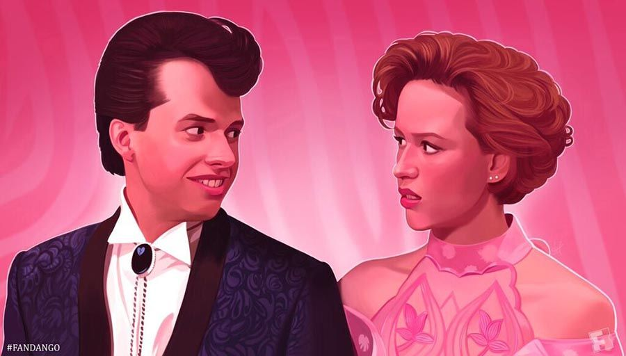 EXCLUSIVE: \'Pretty in Pink\' 30th Anniversary Artwork | Pinterest ...