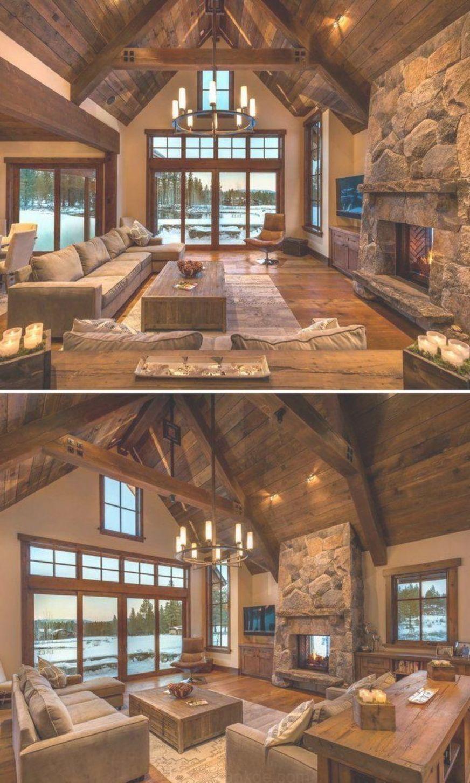 Rustikale Wohnzimmer-Ideen - Rustikale Stil ist ein bevorzugter