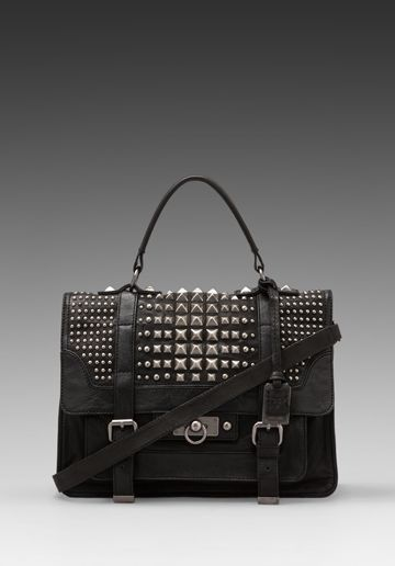b6c0a0229429 FRYE Cameron Studded Satchel. I really really really need this. Now ...