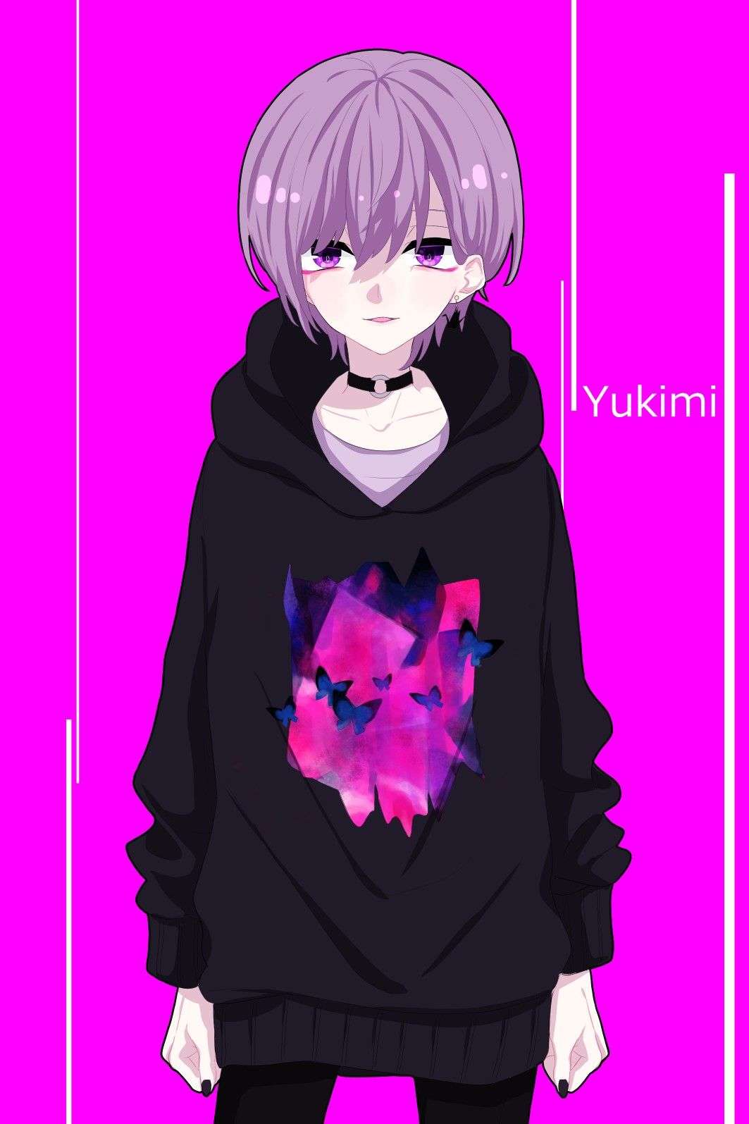 Pin On Anime Cute anime wallpaper dark purple anime