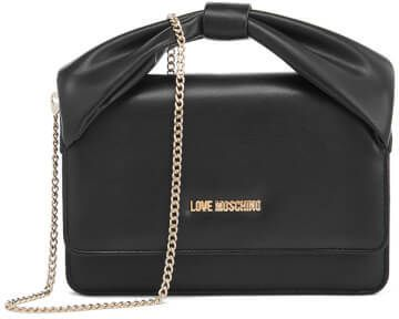 Love Moschino Women S Bow Shoulder Bag Black Moschino Bag Bags Accessories