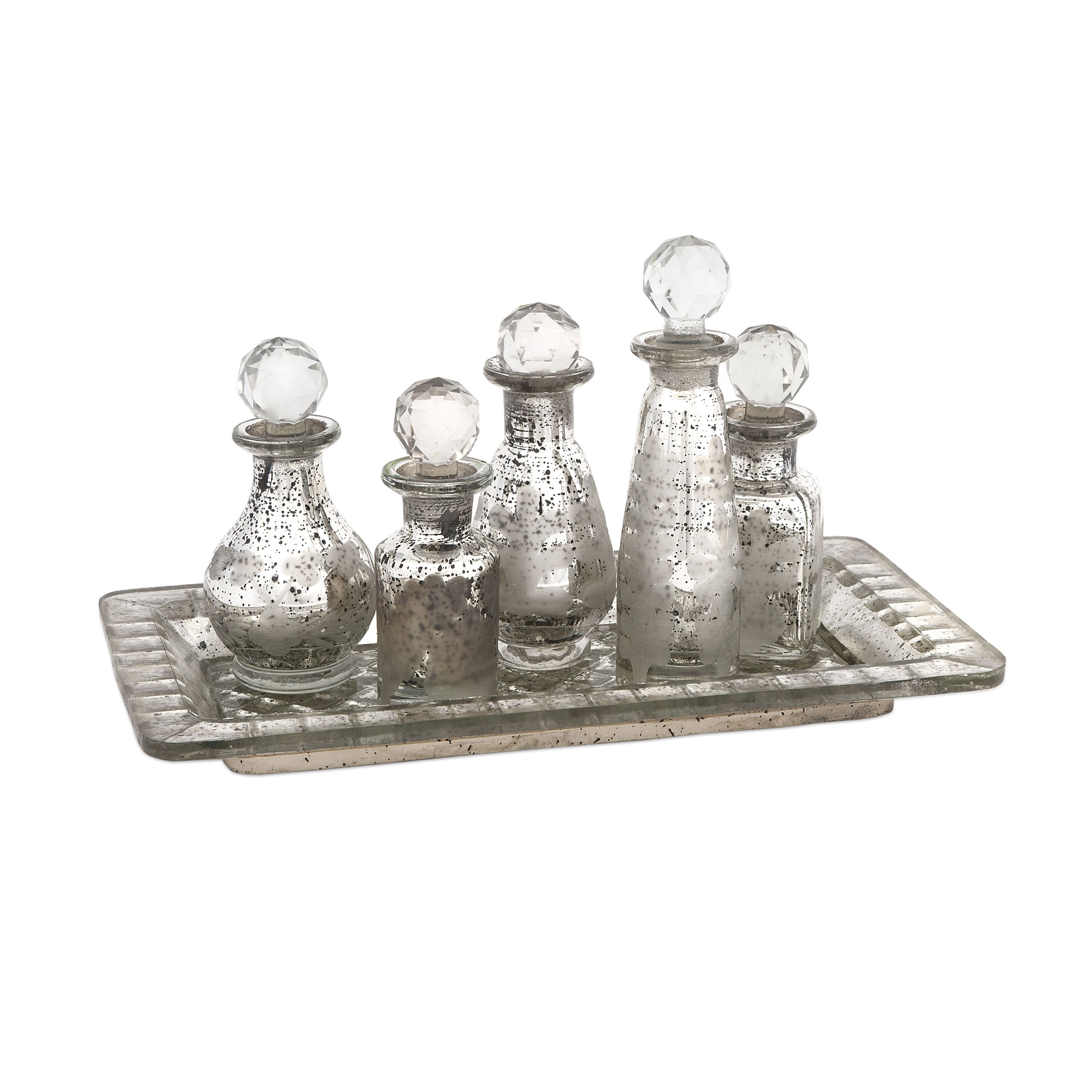 Imax Macaire Mini Bottles w/ Tray