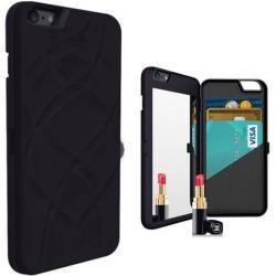 Photo of Flip Mirror Case in Schwarz für Ihr iPhone 6/6sGahatoo