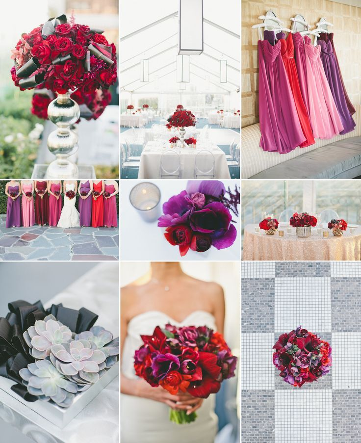Jewel Tones Wedding Colors