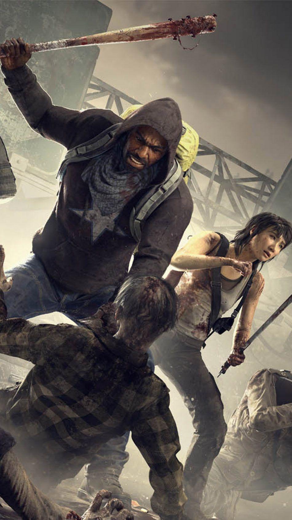 Overkill S The Walking Dead Free 4k Ultra Hd Mobile Wallpaper