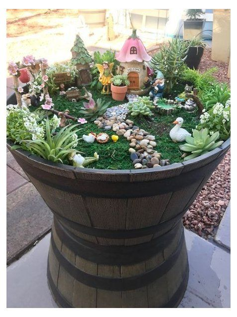 Fabulous Fairy Garden Ideas For Easy And Cheap Your Backyard Design #fairygarden