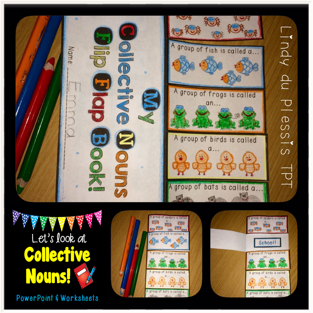 Collective Nouns Powerpoint And Worksheets With Images