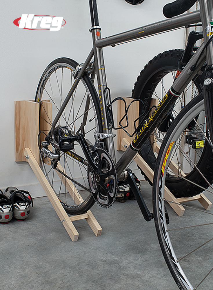 Bikes Leaning Against The Wall Can Quickly Lead To A Chaotic