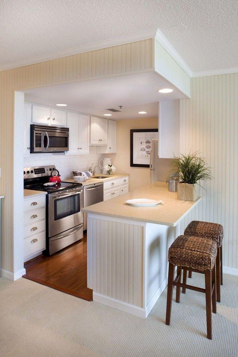 Small Apartment Kitchen Ideas Kids Table 65 Bright Decor Dream Homes Kitchendesign Kitchenideas Kitchenremodel
