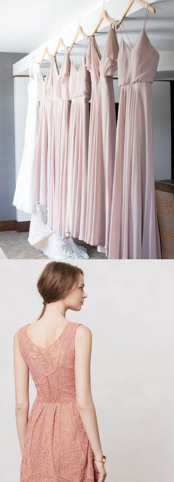Rose colored wedding dress  GLAMOROUS RUSTIC FALL WEDDING COLOR PALETTES ROSE PINK INCORPORATED