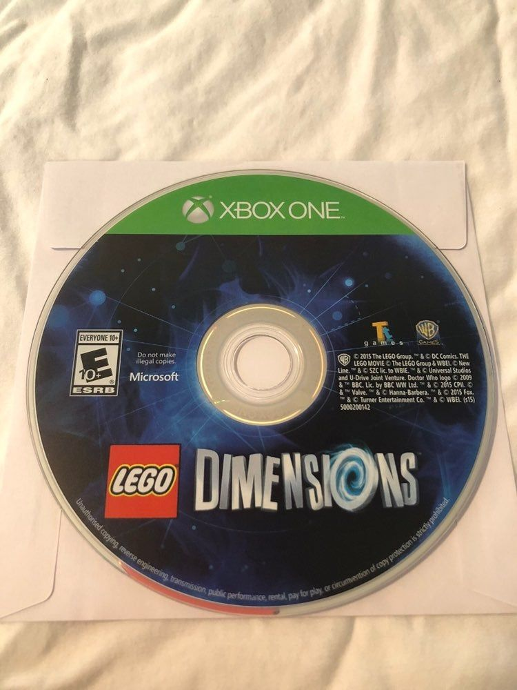 Lego Dimensions For The Xbox One Tested And Working Shipping