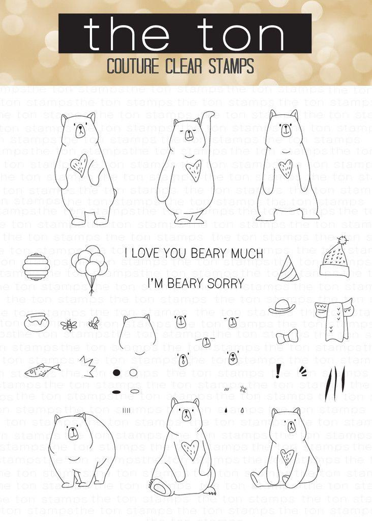 43+ Bear doodle ideas