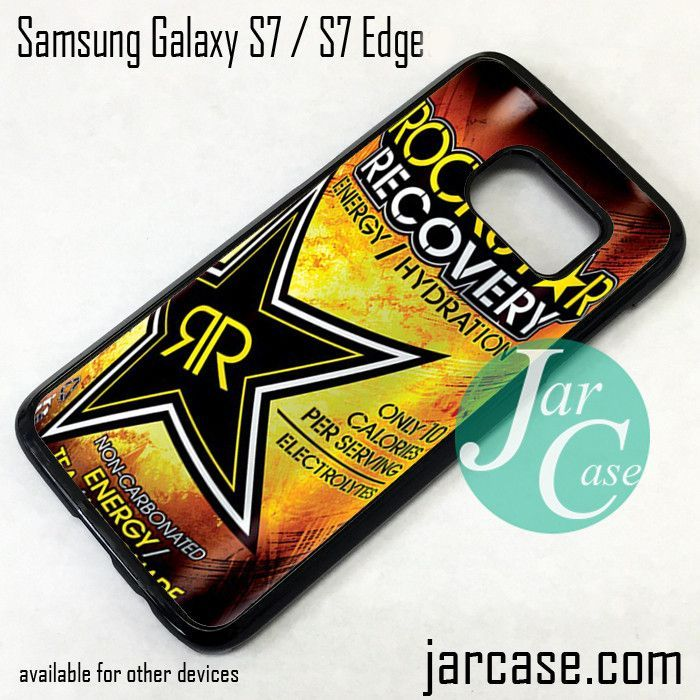 Rockstar Energy Drink Recovery Phone Case For Samsung Galaxy S60 S60 Stunning Samsung Galaxy S7 Forgot Pattern